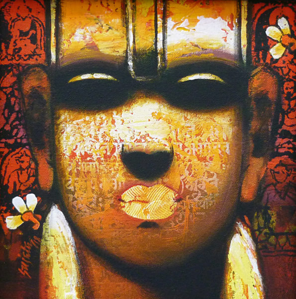 Sujata Achrekar 12 x 12 inches Acrylic on canvas 2