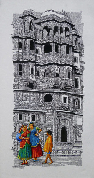 Suhas Vyavarkar 30 x 15 inches Acrylic on canvas